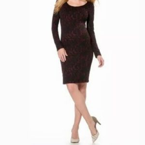 Jessica Simpson Maternity Long Sleeve Dress